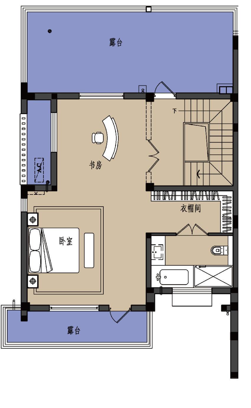 D户型-3楼