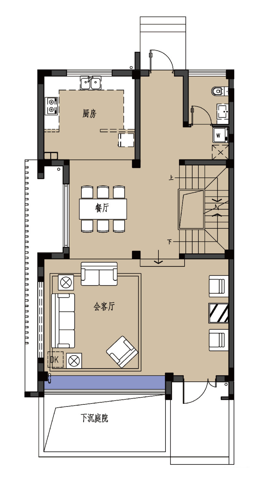 C户型-1楼