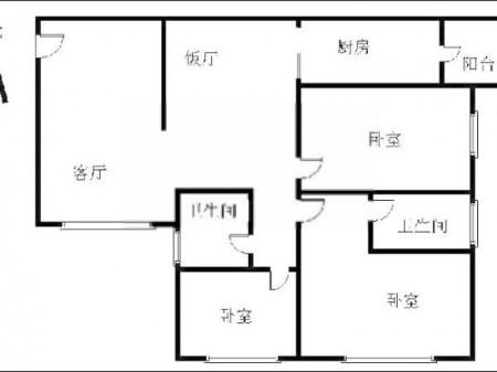 惊爆价1830000元买143平大三房带装修中间楼层南北通透