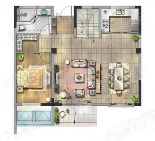 五室两厅四卫