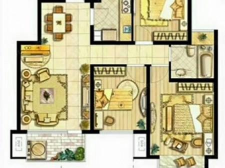 元和之春公务员小区 精装大三房 楼层好 采光 诚心出售