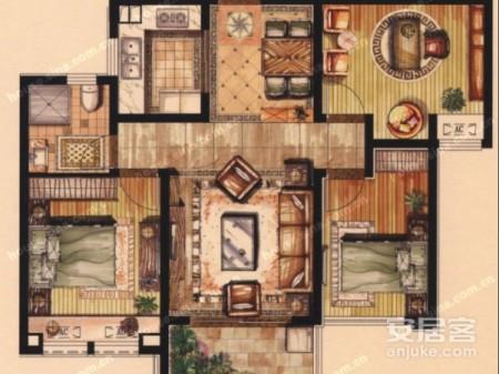 豪华新装修没住过人相城元和晨曦馨苑4室2厅洋房东边户带汽车库