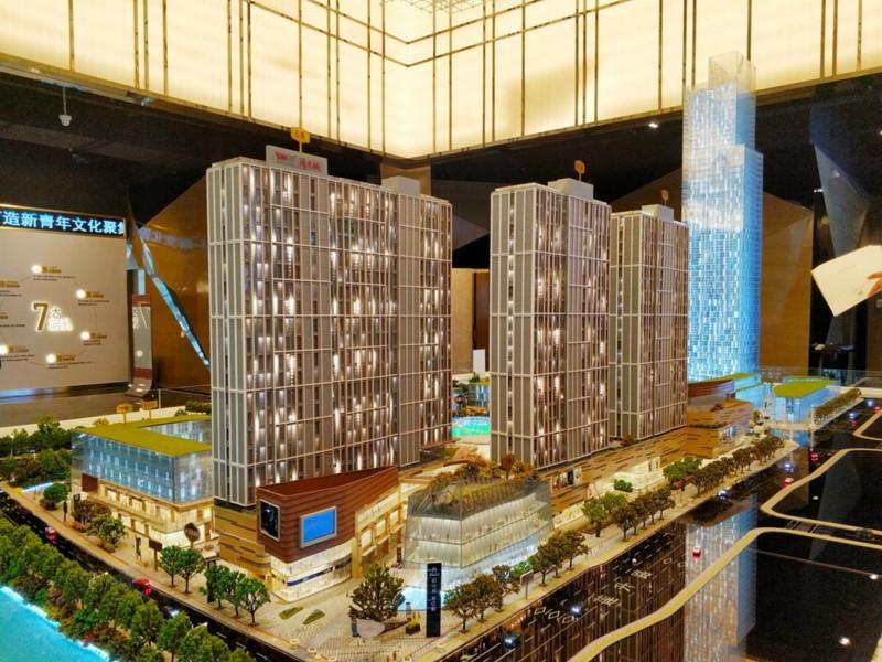 新房总价35万双轨环绕,苏州稀有9米精装公寓,火车站万达对面