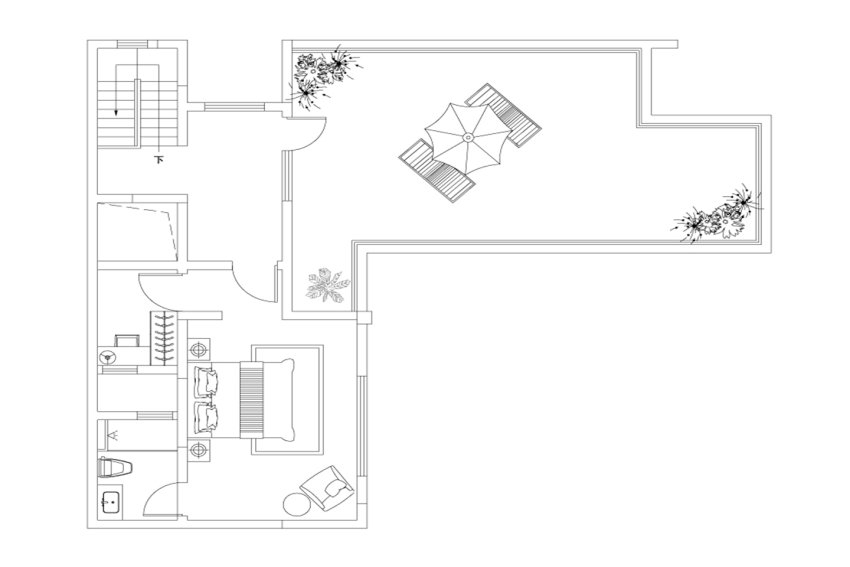 420平米户型3楼