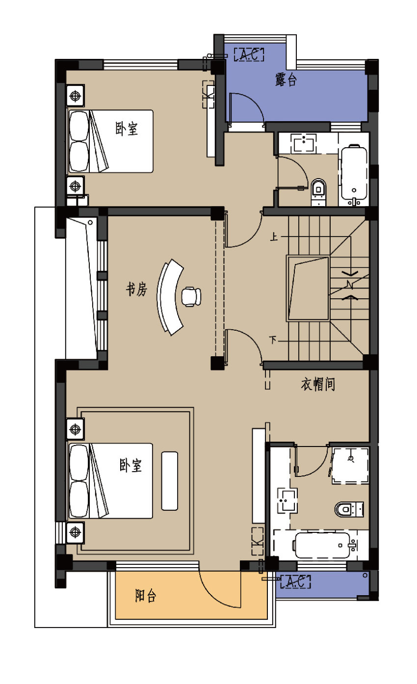 C户型-2楼