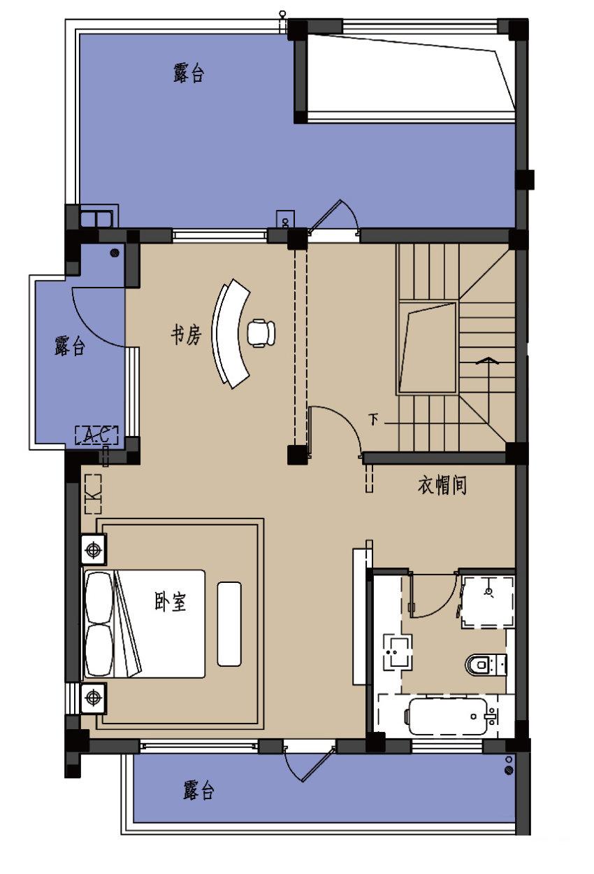 C户型-3楼