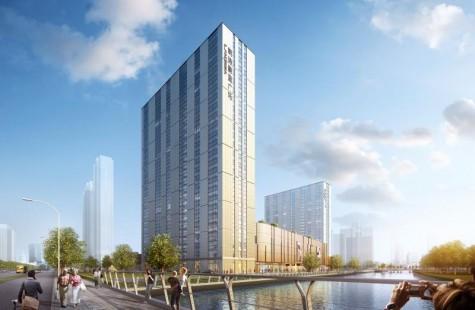 朗诗蔚蓝广场 建面约70-150㎡限量级科技公馆 全置换新风系统