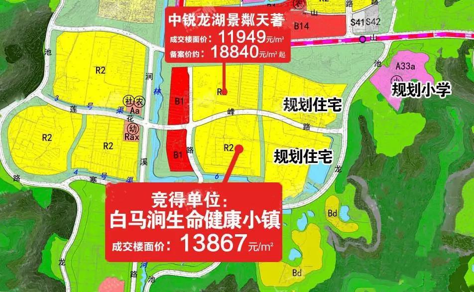 稳!土拍落幕:科技城1.3w、枫桥1.38w、平江新城1.79w...