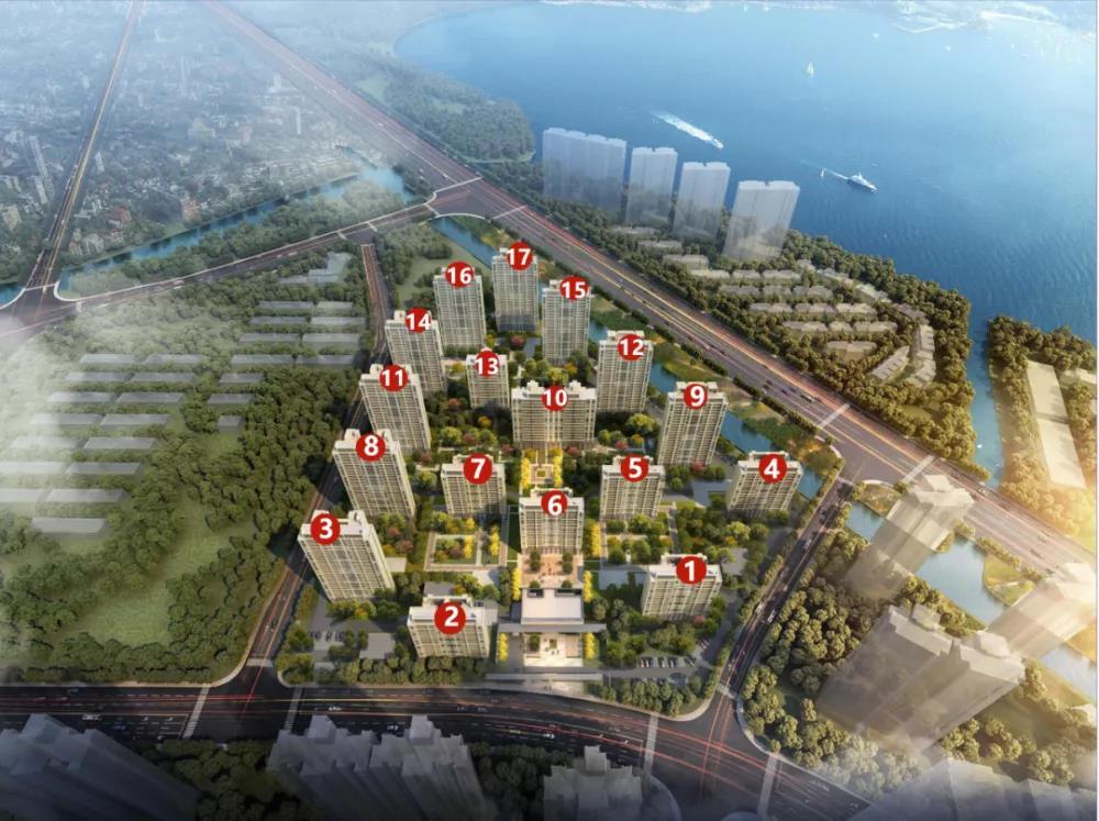 悦景水湾华庭 建面约103-142㎡户型全明开间 综合型地产发展商!