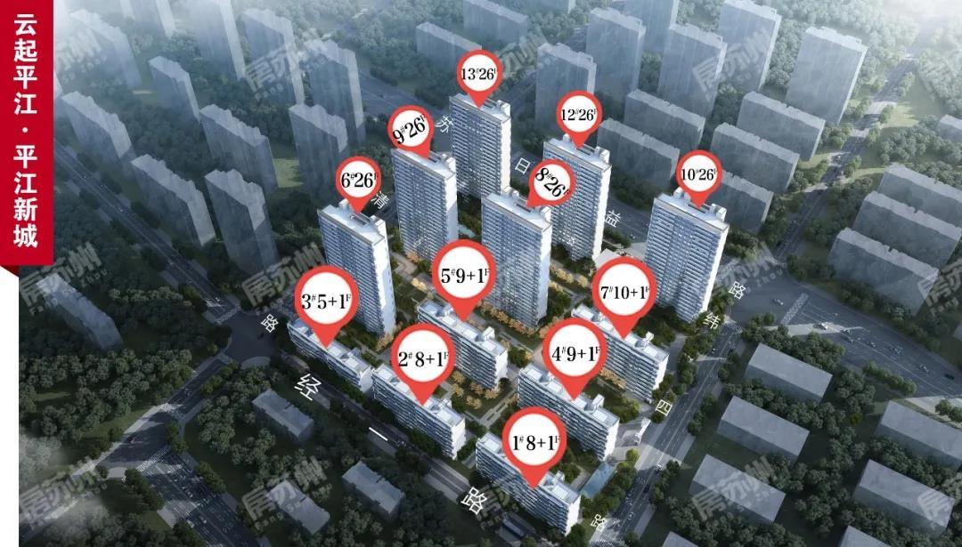 绿都平江新城项目