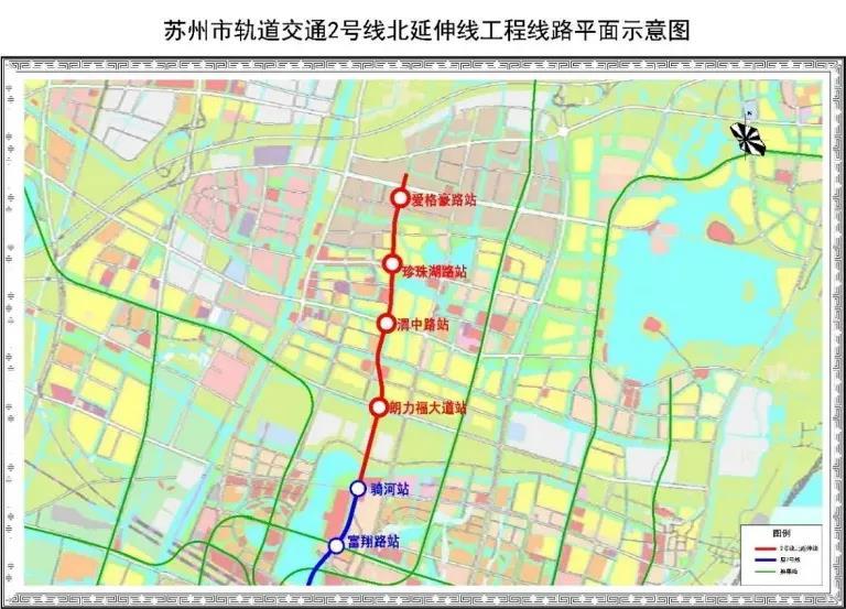 苏州2/4/7号线延伸线工程开标!黄埭、渭塘、北桥、漕湖等地通轨交又近了!